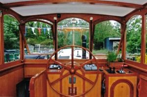 wheelhouse on dutch barge by chiselpig